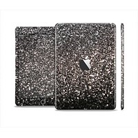 The Black Unfocused Sparkle Full Body Skin Set for the Apple iPad Mini 2
