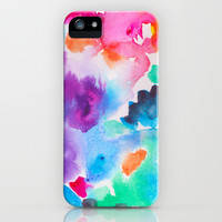 SOMETHING SPLENDOROUS iPhone & iPod Case by Rebecca Allen