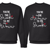 "Jersey Shore ""You're the Snooki to my JWoww / You're the JWoww to my Snooki"" Crew Neck Sweatshirt"