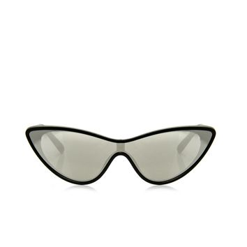 Monroe Cat Eye Sunglasses - Black/Silver