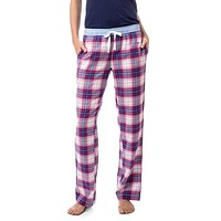 Merrytime Plaid Lounge Pant in Marshmallow by Southern Tide