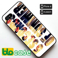 5 Seconds of Summer (2) Iphone 4 Rubber Case