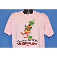80s Comedy Zone Laughed My Ass Off Funny Alien t-shirt Large