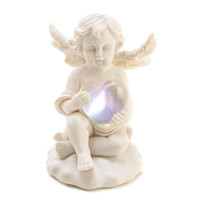 Love`s Glow Cupid Figurine