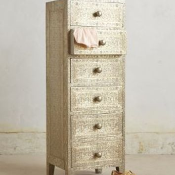 Intaglio Dresser by Anthropologie in White Size: One Size Dresses