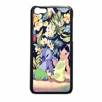 Lilo And Stitch Dancing Floral iPhone 5c Case