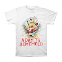 A Day To Remember Men's  Have Faith In Me T-shirt White