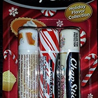 Chapstick Holiday Flavor Collection - Pumpkin Pie, Candy Cane & Cake Batter