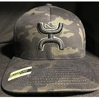 Hooey Chris Kyle CK016  Camo Hat with Punisher logo