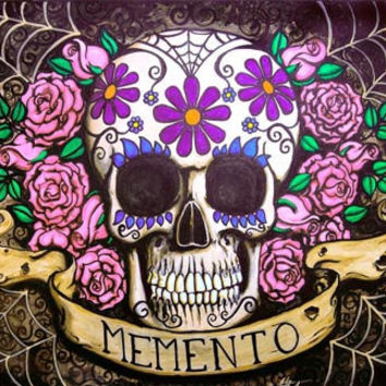 Day of the Dead Memento 20x30 archival print