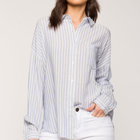 Stripe Tie Back Shirt