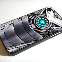 Iron Man War Machine Body Armor, The Avenger - iPhone 4 Case, iPhone 4s Case and iPhone 5 case Hard Plastic Case