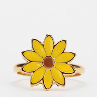 Urban Outfitters - Diament Jewelry For Urban Renewal Daisy Ring