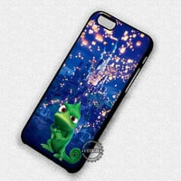 Cute Chameleon Tangled Lantern - iPhone 7 6 5 SE Cases & Covers