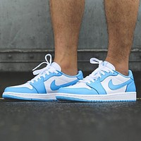 Nike SB x Air Jordan 1 Low Fashion New Hook Women Men Sports Leisure Running Shoes
