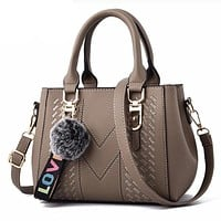 Embroidery Modern Leather Handbags for Women