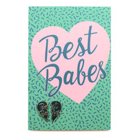 Best Babes Pin Card