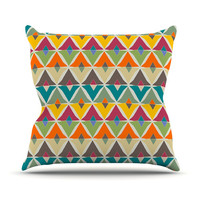 KESS InHouse My Diamond by Julia Grifol Throw Pillow