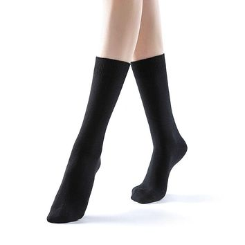 Eva Essential Crew Sock | Black