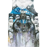 Darth and Troops Tank Top