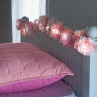 Peony String Lights with AC Adaptor, 90 Inch