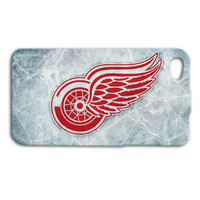 Detroit Red Wings Phone Case Hockey iPod Case Sport iPhone Case Ice Cover iPhone 4 iPhone 5 iPhone 4s iPhone 5s Cute iPod 5 Case iPod 4 Case