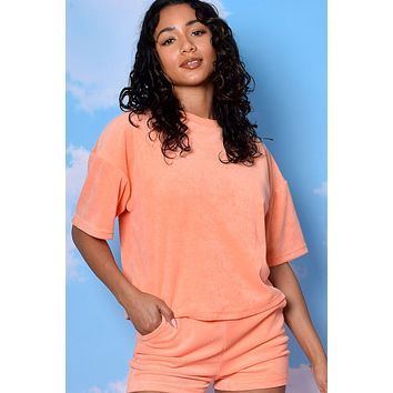 Life Of Leisure Terry Oversized Tee
