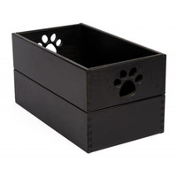 Amish Handcrafted All Wood Dog Toy Boxes