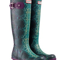 Carnaby Snake Rain Boots | Wellies | Hunter Boots