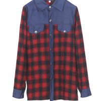 Brokedown Palace Plaid Shirt