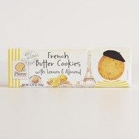 Pierre Butter Cookies with Lemon and Almond