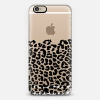 Wild Black Leopard Transparent iPhone 6 case by Organic Saturation | Casetify