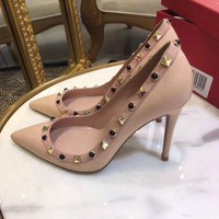 DCCK Valentino Women Casual Shoes Boots  fashionable casual leather
