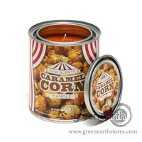 Green Earth Stores | 00211299239 - Fair Scented Tin Candle - Caramel Corn