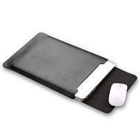 PU Leather Laptop Sleeve Bag Case Cover for MacBook Air 11 12 Pro 13 15