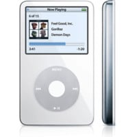 Apple iPod Classic 5th Generation 30GB White, Pre-owned Good Condition - Walmart.com