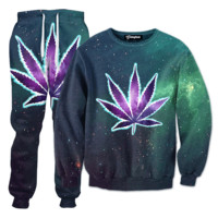 Glow Weed Tracksuit