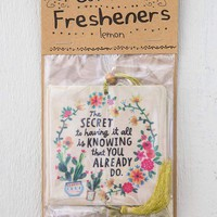 Secret to Having it All Air Freshener