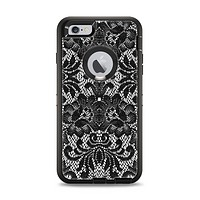 The Black and White Lace Pattern10867032_xl Apple iPhone 6 Plus Otterbox Defender Case Skin Set