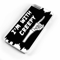 Funny Halloween Costume I Am With Creepy iPhone 6s Plus Case iPhone 6s Case iPhone 6 Plus Case iPhone 6 Case