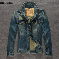 Spring Slim Stylish Jacket And Coats Jeans