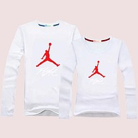Jordan Women Men Lover Casual Long Sleeve Top Sweater Pullover