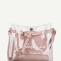 Clear Bag With Inner Pouch