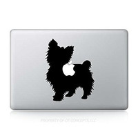 Yorkshire Terrier Dog Yorky Yorkie Sticker Decal For MacBook Pro
