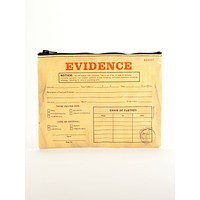 Evidence Recycled Material Cute/Cool/Unique Zipper Pouch/Bag/Clutch/Cosmetic Bag