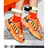 Adidas Yung-1 Yeezy 700 New Popular Men Casual Running Sport Shoes Sneakers Orange I-A-FJGJXMY