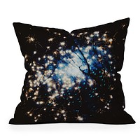 Chelsea Victoria I Saw Sparks Throw Pillow