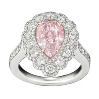 Natural Fancy Purplish Pink Diamond Ring, 2.58 Carats
