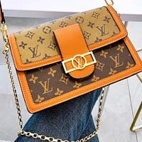 Louis Vuitton LV Classic Trending Women Shopping Bag Leather Handbag Tote Satchel Crossbody Shoulder Bag
