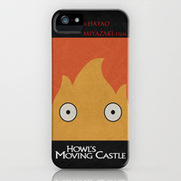 Howl's Moving Castle Poster iPhone Case by Misery   Society6